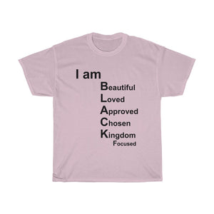 I Am Black Woman Unisex Heavy Cotton Tee
