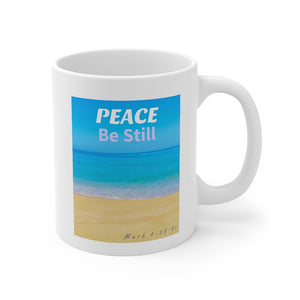 Peace Be Still Mug 11oz