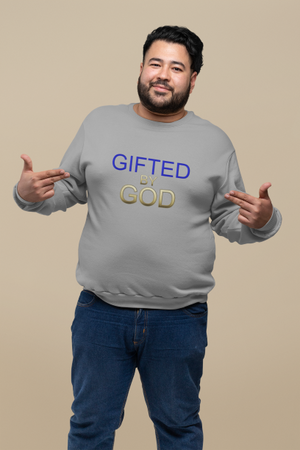 Gifted By God Unisex Heavy Blend™ Crewneck Sweatshirt