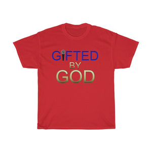 Gifted By God with Mic Unisex Heavy Cotton Tee