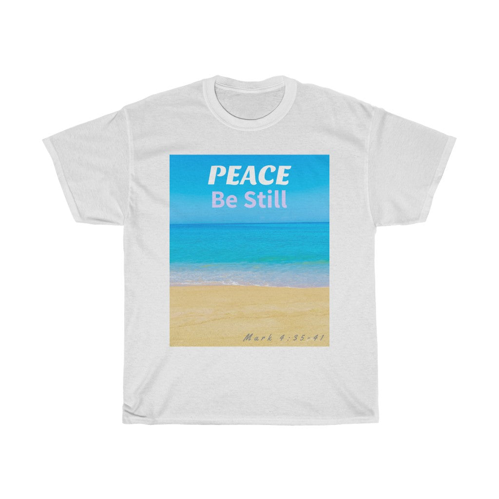 Peace Be Still Unisex Heavy Cotton Tee