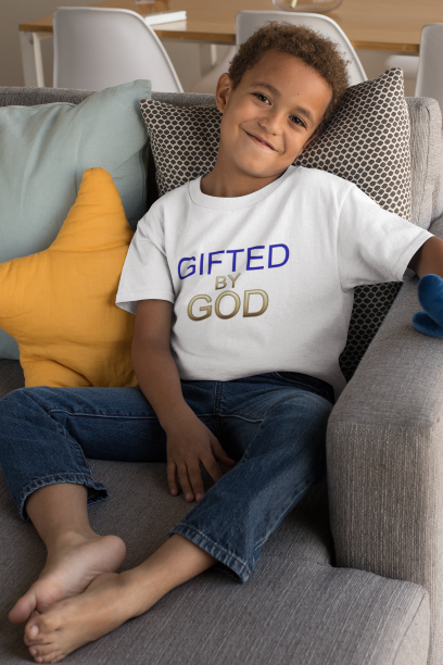 Gifted By God Boys Kids Heavy Cotton™ Tee