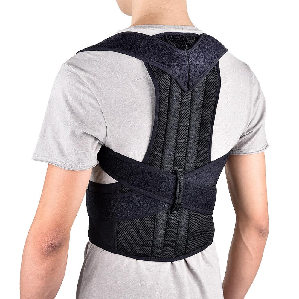 Back Brace | Posture Corrector | Adjustable Back, Shoulder, Lumbar, Spine Back Support