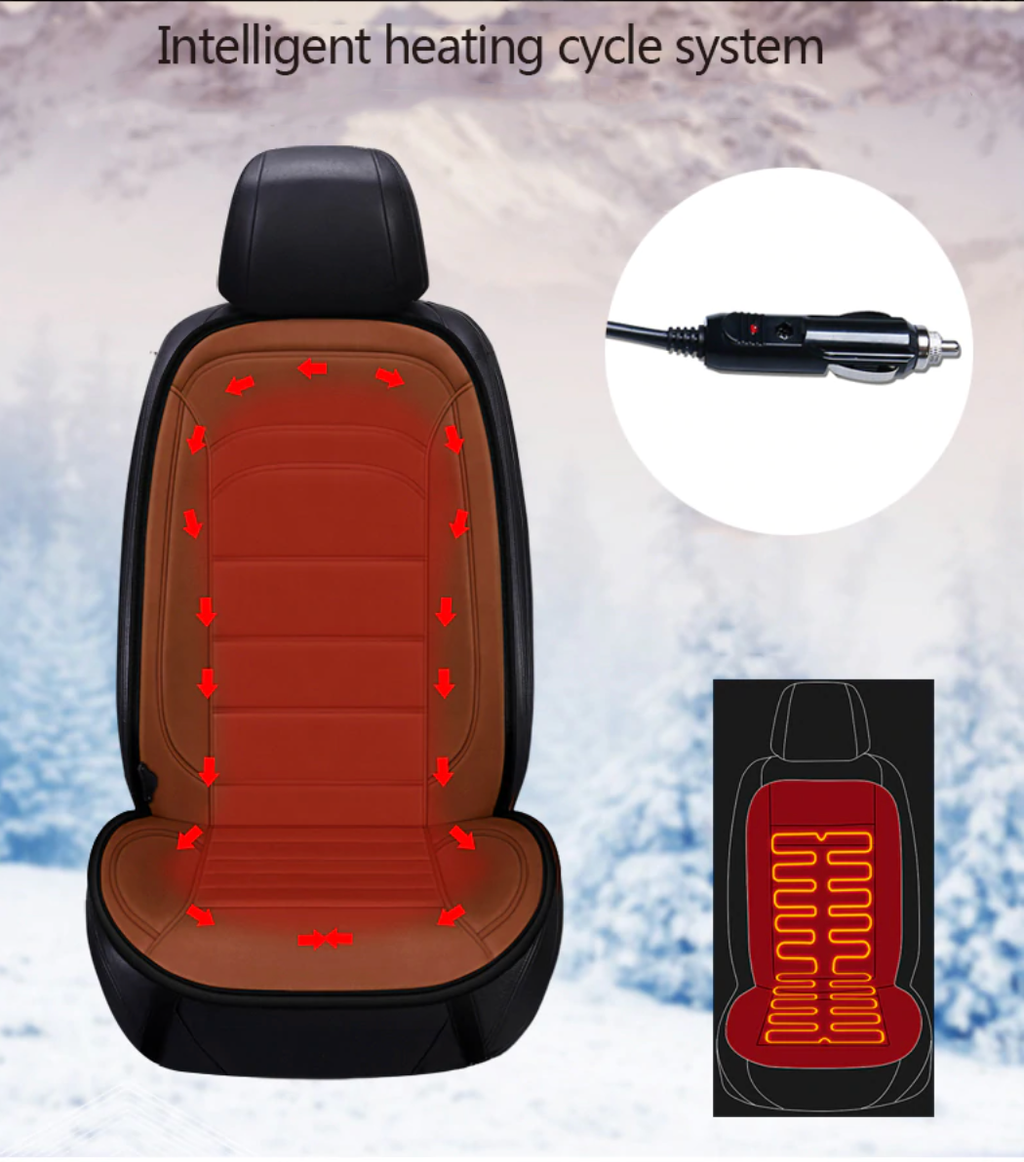 Luxury Electric Heated Car Seat (50%OFF End of Season Sale) 🔥