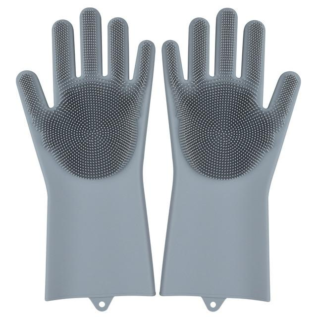 SILICONE DISH WASHING GLOVES (BLACK FRIDAY SALE)