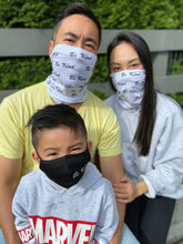 Load image into Gallery viewer, Gaiter 1-4 Layer Thermal Bamboo Be Kind Print Unisex - Face Mask