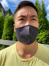 Load image into Gallery viewer, Safe & Sleek 3 Layer Waterproof Solids Men's - Face Mask