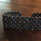 Cuff Bracelet - Diamond Design
