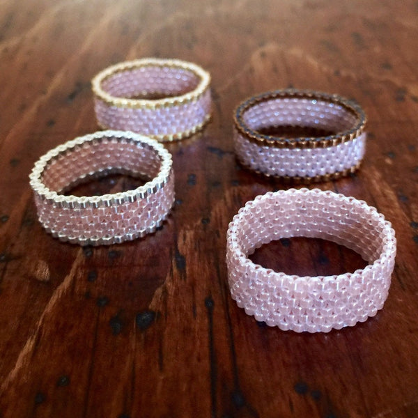 Modern Ring - Pinks