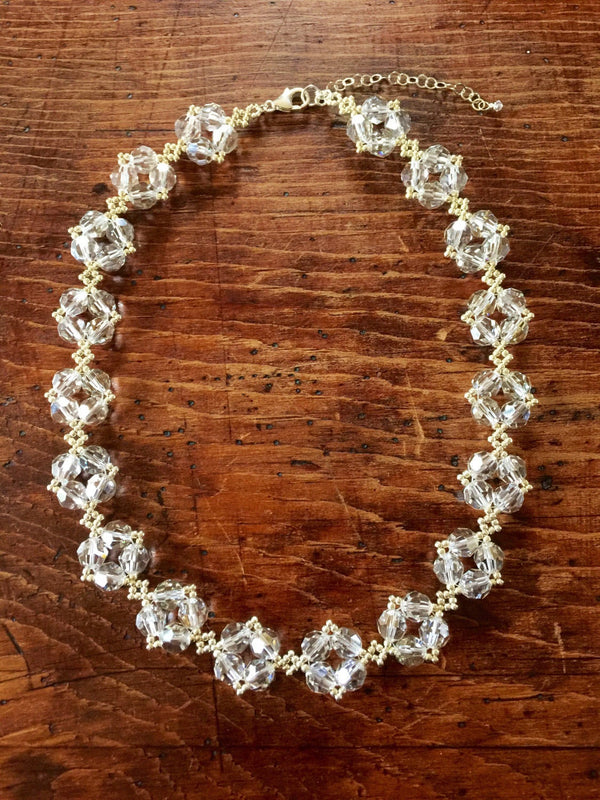 Crystal Cluster Necklace