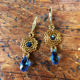 Hexagon Briolette Earrings