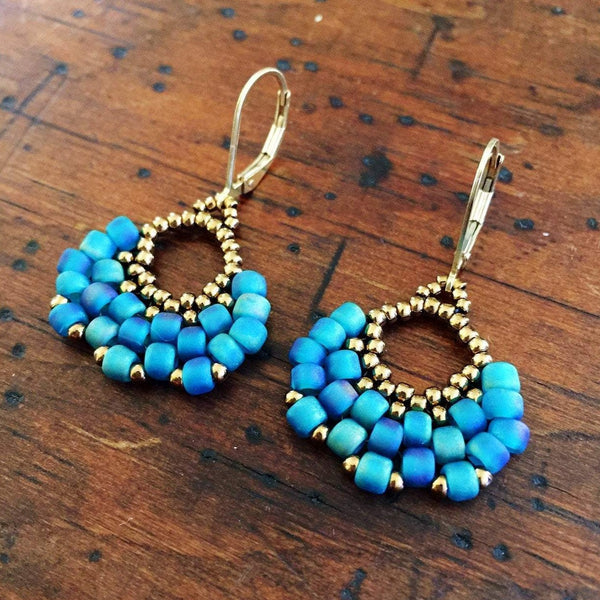 Boho Fan Earrings