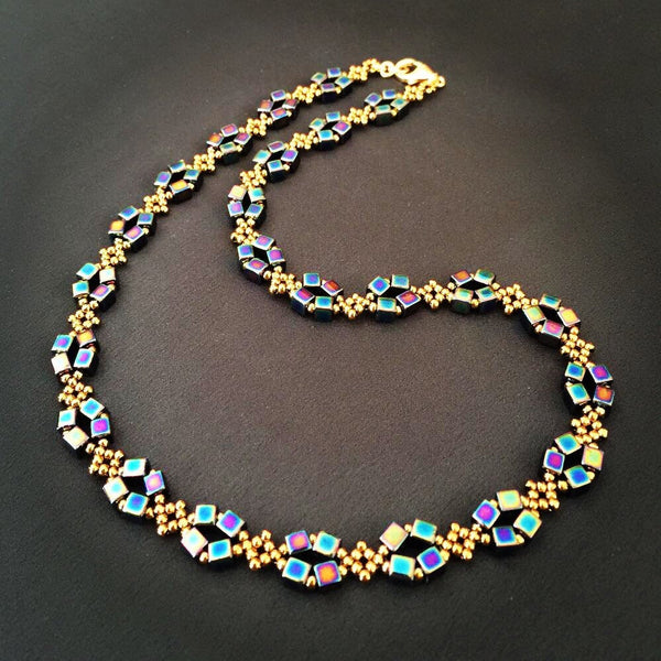 Rainbow Metallic Necklace