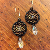 Circle Game Briolette Earrings