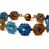 Hexagon Tri-Tone Bracelet