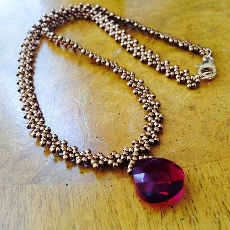 """Diamond"" Chain Necklace"