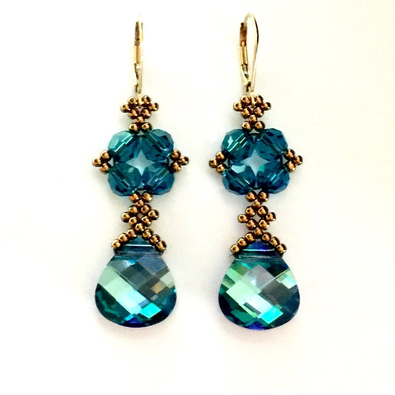 Dramatic Crystal Earrings