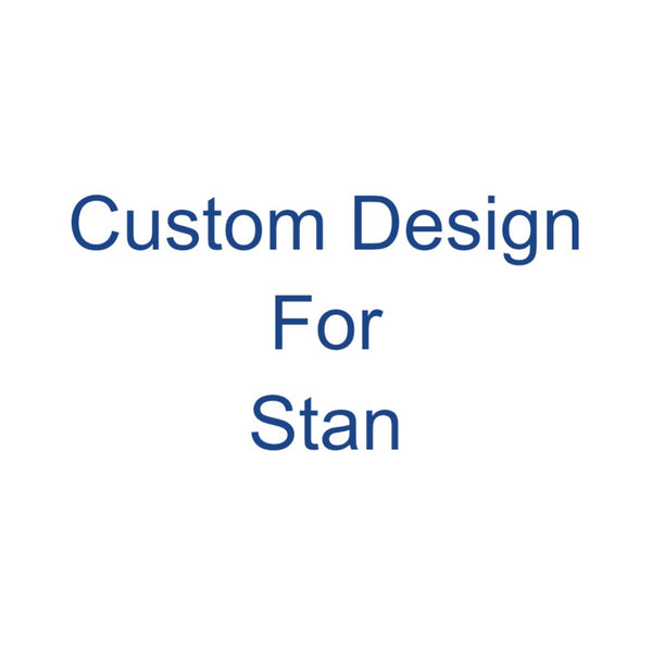 Custom Earring Design for Stan