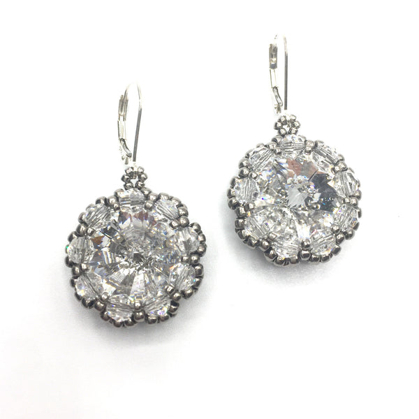 Crystal Rivoli Earrings