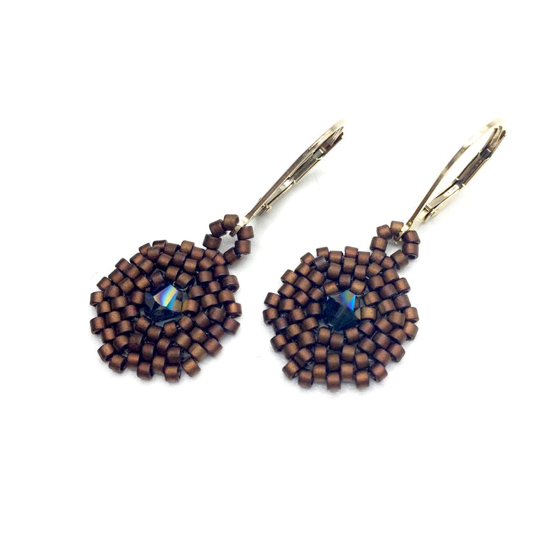Hexagon 1 Drop Earrings