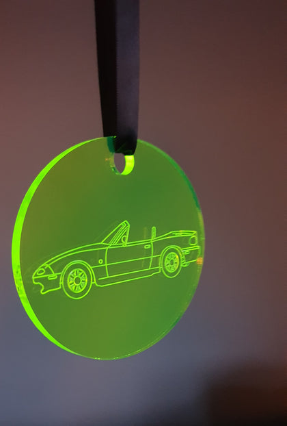 Mazda Mx-5 NA Miata Acrylic Decoration