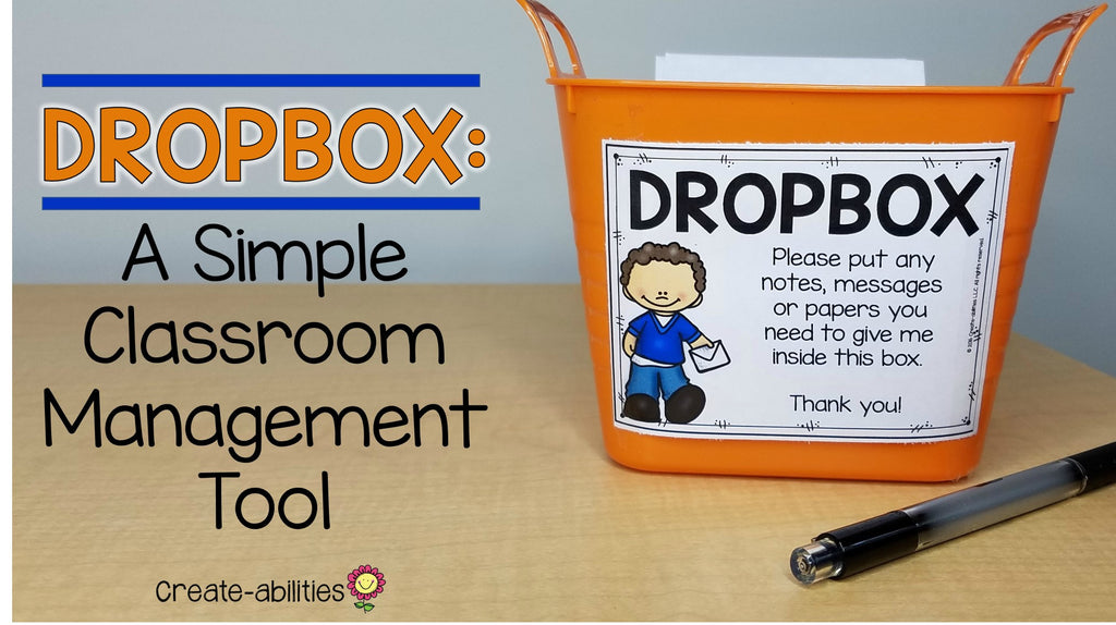 Dropbox: A Simple Classroom Management Tool