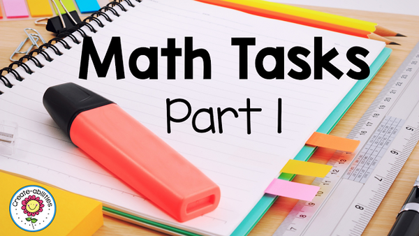 Math Task Explanations Part 1