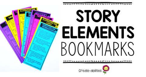 Story Elements Bookmarks