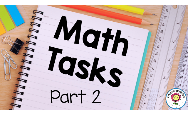 Math Task Explanations Part 2