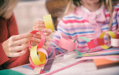 paper chain countdown for school