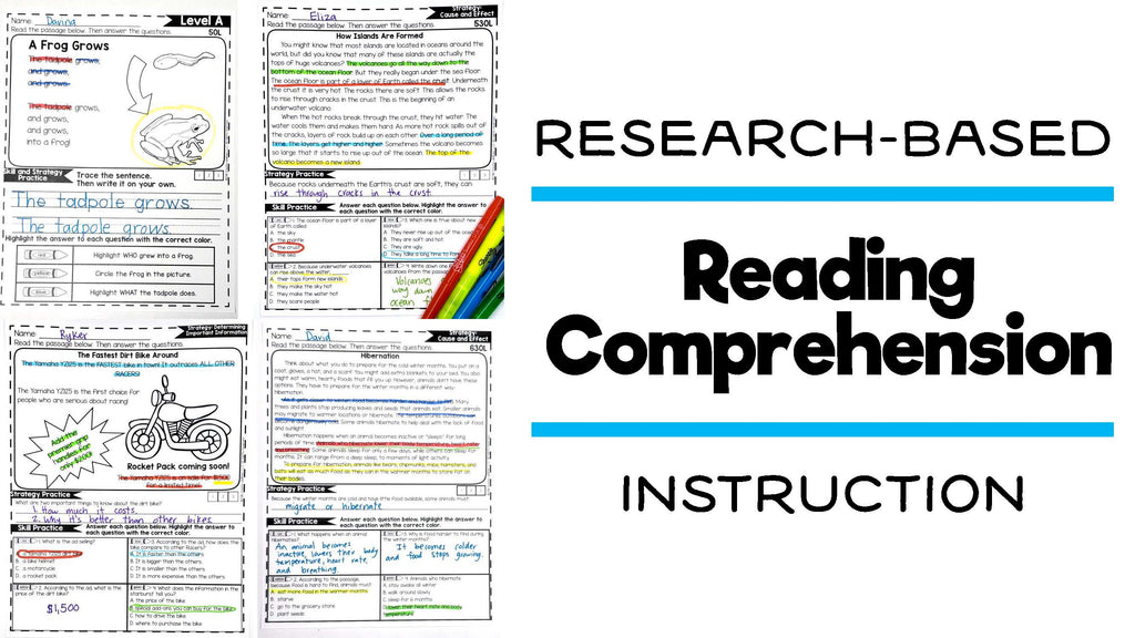 Research Based Reading Comprehension Instruction
