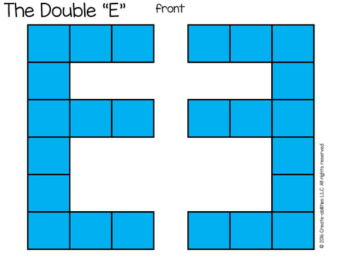 Superior Double E Desk Arrangement