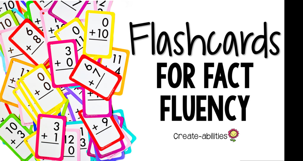 Flashcards for Fact Fluency