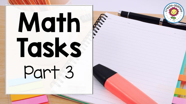 Math Task Explanation Part 3
