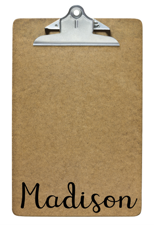 personalized clipboard for student gifts