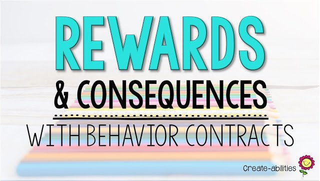 Rewards and Consequences With Behavior Contracts