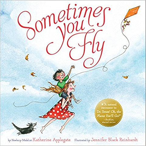 Sometimes You Fly picture book for the end of year
