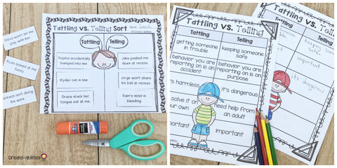 Tackling Tattling in the Classroom – Create-abilities