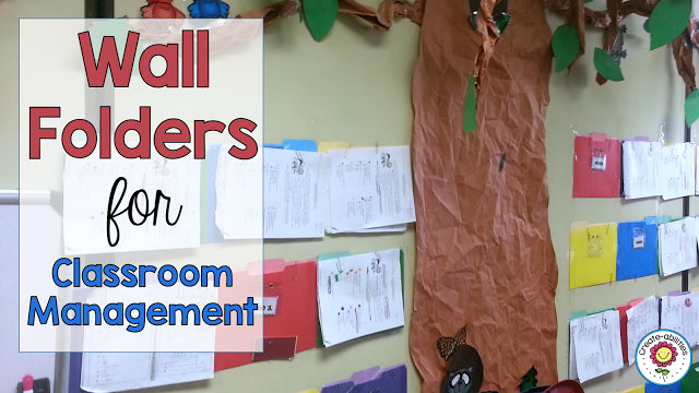 Wall Folders: A grading and missing assignment miracle