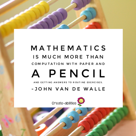 mathematics is more than a pencil