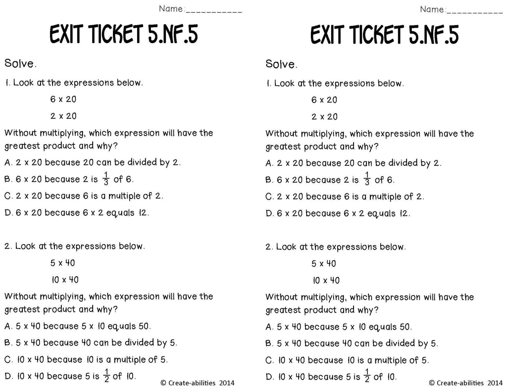 worksheet Fraction Word Problems multiplying fractions word problems math tasks and exit tickets tickets