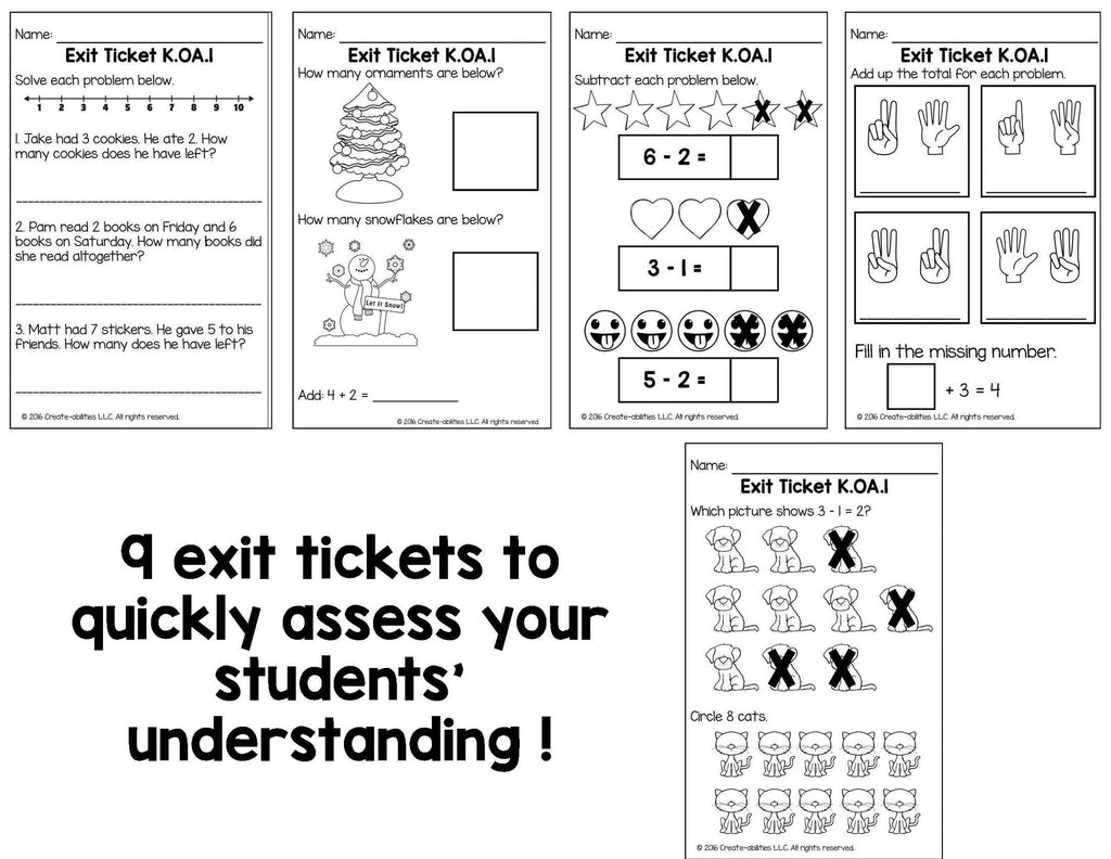 worksheet Addition And Subtraction Story Problems addition and subtraction word problems within 10 math tasks exit tickets