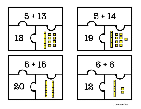 Addition and Subtraction Puzzles