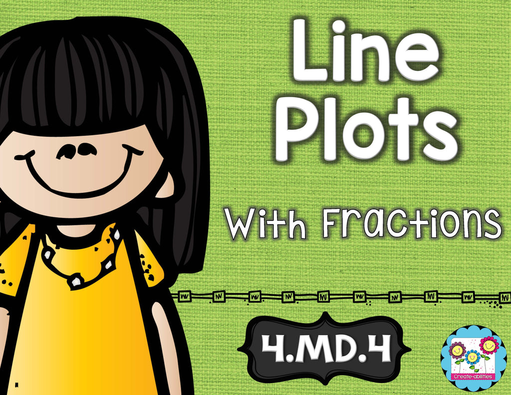 Line Plots With Fractions Math Tasks and Exit Tickets
