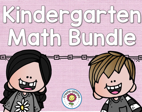 Math Bundle Kindergarten ALL Standards