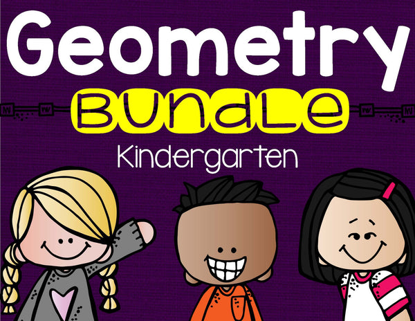 Geometry Bundle Kindergarten
