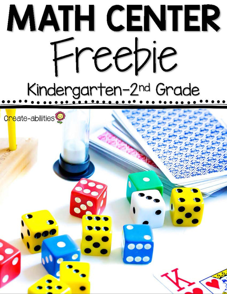FREE Double Trouble Place Value Center