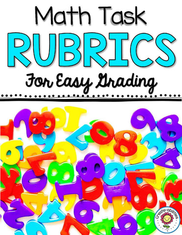 Math Tasks Rubrics EDITABLE