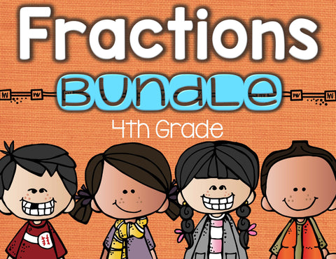Fractions Bundle 4th Grade