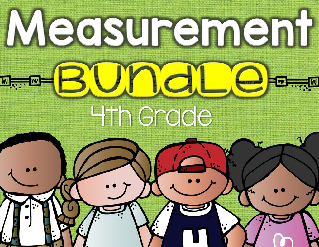 Measurement Bundle 4th Grade